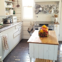 DIY Fixer-Upper Kitchen