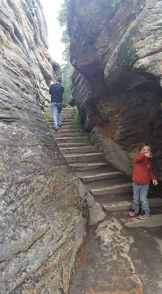 Sunwapta Falls Canyon